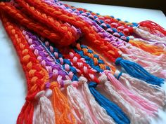 Picture of Easy Crochet Scarf (For Beginners!)
