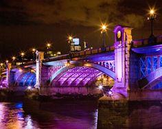 Philips Color Kinetics: Bridge Lighting Showcase / #LED