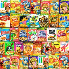 What's the healthiest cereal in your supermarket? 275 of the top cereals scored and ranked. Cinnamon Crunch, Honey And Cinnamon, Healthy Cereal Brands, Puerto Rico, Kids Cereal, Cereal Boxes, Oatmeal Crisp, Types Of Cereal, Funny Memes