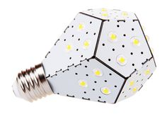 The NanoLeaf LED light: the future of light bulbs. This is amazing and you can get it now.