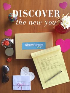 The only way you can truly love another is by first loving yourself. Discover the new you deeper than you ever have before. Cheerbox is specially curated to your desires. Discover creativity, inspiration, relaxation, joy, & self-love with 4 amazing products in every Cheerbox. A caring & hand written motivational note is always included. MentalHappy wants to help Cheer you up and Cheer you on! Gift a Cheerbox to yourself or a friend today and enjoy $5 OFF