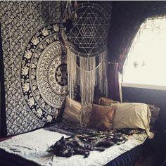 31 Bohemian Bedroom Ideas | Estilo marroquí, Compartir y Decoración