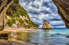 Cathedral Cove on the Coromandel Peninsula, North Island, #NewZealand   #Miessence #CertifiedOrganic