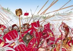 Battle in Dacia, c. 101 AD.