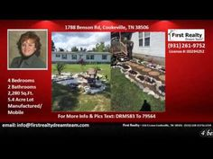 4 bedroom home for sale with fireplace in Monterey TN http://ift.tt/1N2jHkO  Victoria Carmack - First Realty - 116 S Lowe Cookeville TN 38501 - (931) 528-1573x 2234  4 bedroom home for sale with fireplace in Monterey TN http://ift.tt/NWjlQH Privacy plus a home to suit every need at a price for your wallet! Look at what we should found. This house has 4 large Bedrooms 2 baths and living room and great room having a bonus room. This very well maintained property is settled on 5 acres with…