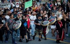 Canada's indigenous: 'We are the wall' that the pipeline cannot pass | Al Jazeera America