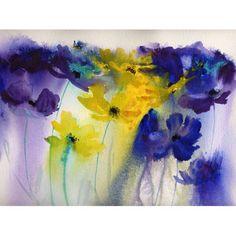 Rachel McNaughton flower paintings