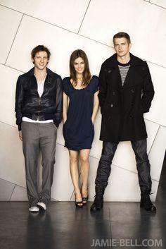 "Jamie Bell,Rachel Bilson, and Hayden Christensen ""Jumper"" promotional pic"