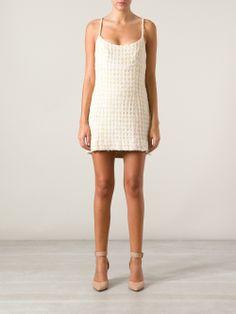 Chanel Vintage Tweed Dress - A.n.g.e.l.o Vintage - Farfetch.com