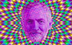 Psychedelic man... totally: