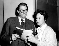 To Kill a Mockingbird (1962) - Gregory Peck and Harper Lee