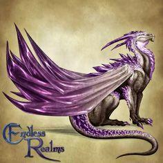 http://jocarra.deviantart.com/art/Endless-Realms-bestiary-Amethyst-Dragon-603999501