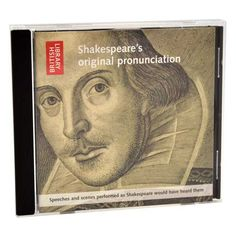 Speeches and scenes performed as Shakespeare would have heard them  Price: £10.00  More: http://shop.bl.uk/mall/productpage.cfm/BritishLibrary/ISBN_9786000021078?ns_campaign=christmas12_mchannel=socialmedia_source=pinterest_linkname=shakespearecufflinks_fee=0