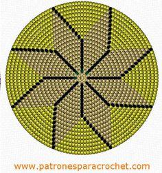 Risultati immagini per mochila bag crochet pattern free Bead Crochet, Crochet Motif, Loom Beading, Beading Patterns, Mochila Crochet, Tapestry Crochet Patterns, Tapestry Bag, Crochet Purses, Rosettes