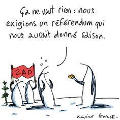 """Résultat de recherche d'images pour """"évacuation des zadistes de Bure humour"""""""