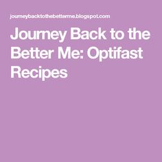 Journey Back to the Better Me: Optifast Recipes Shake Recipes, New Recipes, Favorite Recipes, Yummy Recipes, Get Healthy, Healthy Life, Healthy Eating, Optifast Diet, Diet Root Beer