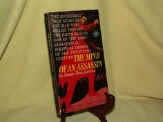 MIND OF AN ASSASSIN BY ISAAC DON LEVINE SIGNET PB D1854 1ST OCT 1960 TROTSKY
