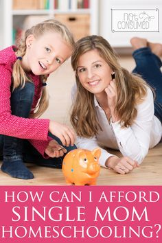 Can I afford to homeschool as a single mom? How will we survive? Both fair questions given the circumstances. But believe it or not, thousands of single moms have overcome these obstacles. You can too!