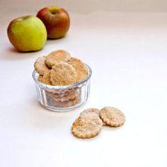 Chew Baby, Chew: Homemade Apple Cinnamon Teething Biscuits. (wheat flour, applesauce, molasses, cinnamon, water)