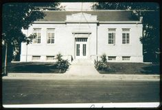 Early picture of the Saugus Public Library · Saugus Public Library, Saugus, Mass. Digital Heritage