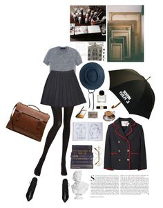 """Things you might not know about me; I went to an artsy-fartsy private school, by the sea"" by eivor ❤ liked on Polyvore featuring Assouline Publishing, WALL, Clyde, Chantal Thomass, Cédric Charlier, Yves Saint Laurent, Luella, Hermès, Retrò and Byredo"