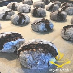 Kakaolu Çatlak Kurabiye Tarifi - Afiyetli Sofralar - Yemek Tarifleri