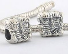 Image result for twin charms pandora