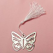 Metal Butterfly Bookmark With Silk Tassel Wed... – USD $ 1.52