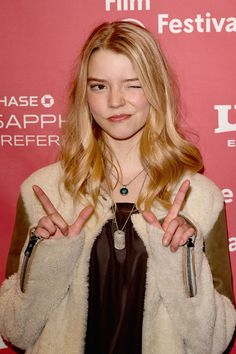 """Anya Taylor-Joy Photos - Actress Anya Taylor Joy attends """"The Witch"""" premiere during the 2015 Sundance Film Festival on January 2015 in Park City, Utah. - 'The Witch' Premieres at Sundance Anya Joy, Anya Taylor Joy, Pretty People, Beautiful People, My Girl, Cool Girl, Sundance Film Festival, Actrices Hollywood, Celebs"""