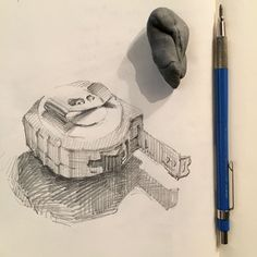 Sketchbook by sarah sedwick. Pencil Sketch Drawing, Pencil Drawings, Diy Old Books, Academic Drawing, Graffiti, Learn To Sketch, Observational Drawing, Still Life Drawing, Object Drawing