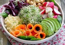 Ces salades sont aussi consistantes que des pâtes - Elle à Table