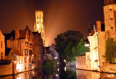 Brugge in West Flanders, West Flanders  Also know as the mini venice of Belgium. Really a must see! Take a boat tour around the city, tour of the last standing brewery, a view from the bell tower (Belfry) of the entire city, and much more!