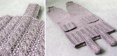 Buksedress med lommer - Baby 0-1 år - Materialpakker - Design by Marte Helgetun