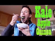 Kale Apple Quinoa Bowl: Organic Vegan Recipe Demo. This is sooo yummy and easy!!!!'
