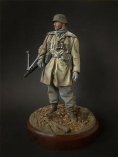 Nice WWII German toy soldier.