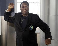 8. Pelé is a hero.