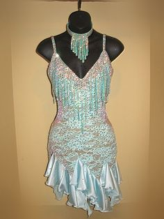 CR191 - Rhythm/Latin Ballroom Dress
