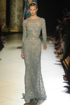 I Command You To Stop Whatever You're Doing and Come Ohhhhh and Ahhhhh Over These Wedding-Worthy Elie Saab Couture Dresses With Me! : Save the Date: Weddings: glamour.com