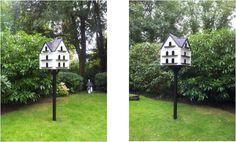 Beautifully made garden dovecotes