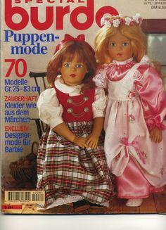 """Девочки, как обещала выкладываю кукольную """"Бурду"""". Пока только картинки,а дальше посоветуйте как лучше. Если интересуют многие модели, выложу следующим топиком описания, и еще одним листы с выкройками по частям. В одно сообщение все не поместится"""