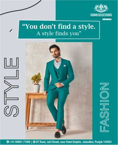 """""""You don't find a style. A Style finds you."""" 👉To buy the latest and Luxury Men's Wear, Visit Sodhi Selections #Contact: +91-99881-77088 #Address: GT Road, Near Hotel Dolphin, Jalandhar, Punjab -144001 Men's Clothes Shopping From Sodhi Selections. #sodhiselections #sagarsodhi #suits #fashion #suit #style #suitstyle #mensfashion #dresses #bridal #menswear #kurti #onlineshopping #indianwear #instafashion #designer #ethnicwear #cotton #dress #indianfashion #fashionblogger Winter Blazer For Men, Blazers For Men Casual, Casual Blazer, Luxury Mens Clothing, Men's Clothing, Best Suits For Men, Cool Suits, Designer Suits For Men, Designer Clothes For Men"""