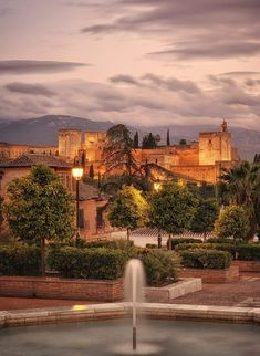 Alhambra in Granada - Andalusia, Spain Alhambra Spain, Andalusia Spain, Cordoba Spain, Mughal Architecture, Places To Visit, Earth, Mansions, House Styles, City