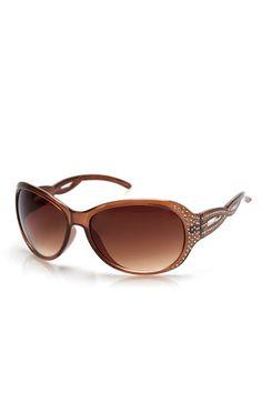 Taupe Diamante Sunglasses #WallisFashion