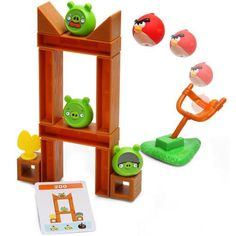 Angry Birds Board game for BE's Birthday!! He would love this!