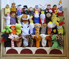 pencils and pins: muppet inspired puppet storage