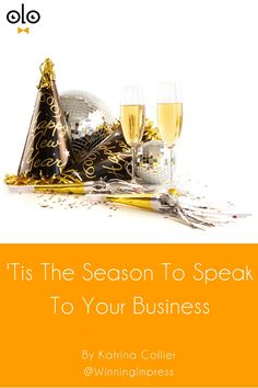 'Tis The Season To Speak To Your Business by Katrina Collier. Take advantage of the Christmas parties and speak to the people in your business and reap the social media recruitment benefits.
