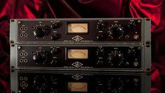 Universal Audio UA 175 B Vintage Limiting Amplifiers Tube Compressors Pair