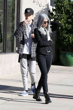 "sofiarichiefashionstyle: ""January 13, 2015 - Sofia Richie and Miles Canter leaving Urth Caffe """