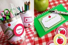 Back to School Printables #printables #freebies #apple