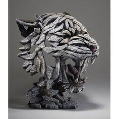 Metal Art, Wood Art, Abstract Sculpture, Lion Sculpture, Tiger Artwork, Tiger Mask, Cool Masks, Ceramic Animals, Animal Heads